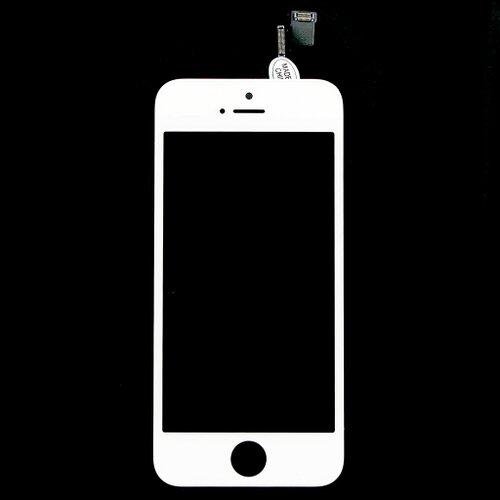 Apple iPhone 5S - LCD Displej + Dotyková Plocha - Biely OEM