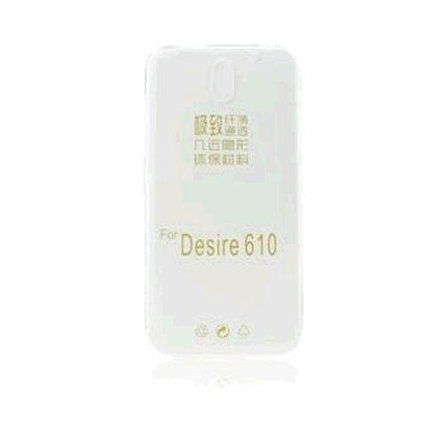 GUMENÉ ULTRA tenké (0,3mm) puzdro určené na HTC DESIRE 610 transparetné