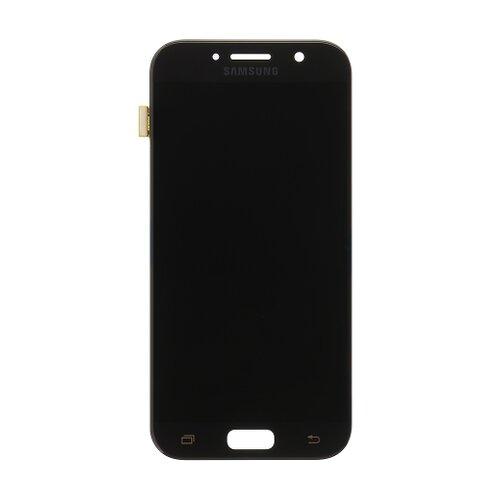 Samsung A520 Galaxy A5 2017 - LCD Displej + Dotyková Plocha - Čierny (Service Pack)