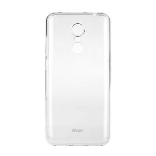 Puzdro Roar Jelly TPU Xiaomi Redmi 5 Plus - transparentné