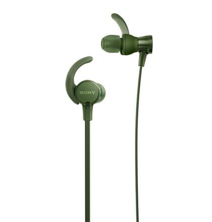 SONY Sluchátka ACTIVE MDR-XB510AS,zelená