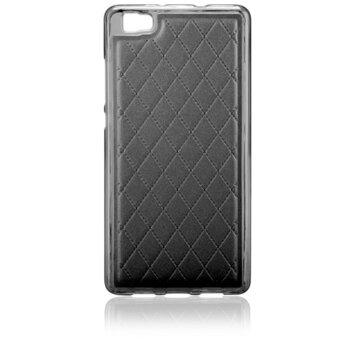 Puzdro Huawei P8 Lite Skin silikónové - čierne