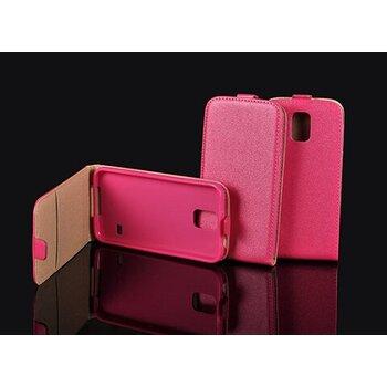 Puzdro Sony Xperia Z5 Compact E5823 Slim Pocket Flexi knižka, ružové