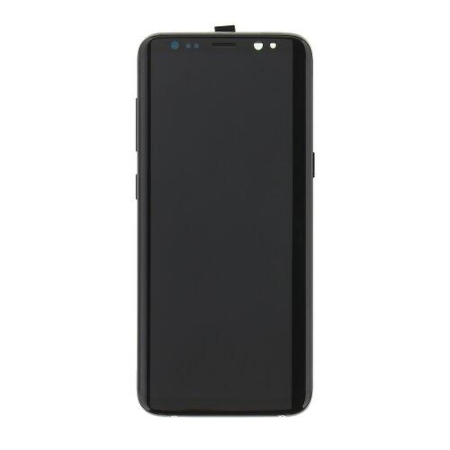 Samsung G950 Galaxy S8 - LCD Displej + Dotyková Plocha - Čierny (Service Pack)