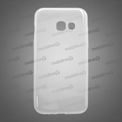 Gumené puzdro Samsung Galaxy A3 2017, priehľadné, anti-moisture