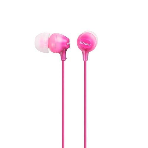 Sony MDR-EX15LP Slúchadlá Ružové