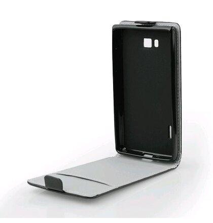 Samsung Galaxy Alpha (G850) Knižkové puzdro Slim Flexi , Čierne