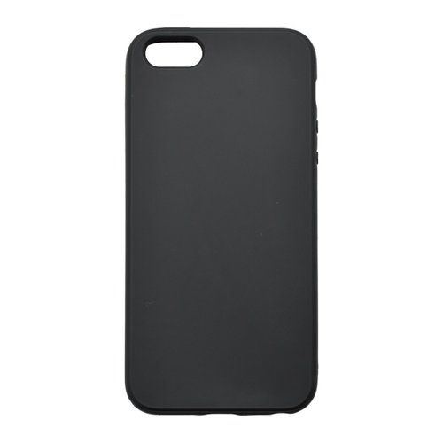 Matné gumené puzdro iPhone 5, čierne
