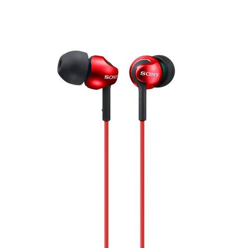 Sony MDR-EX110LP Slúchadlá Červené