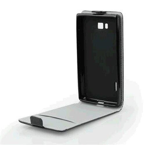 Puzdro Lenovo A Plus/ Lenovo B ForCell Slim Flip Flexi, čierne