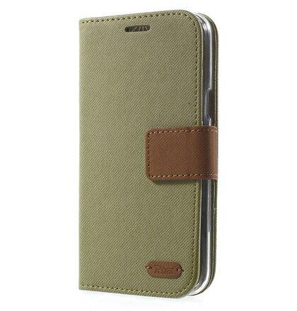 Puzdro Samsung Galaxy S7 G930 Roar Simply Life bočné knižkové puzdro - khaki