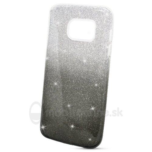 Puzdro 3in1 Shimmer TPU Samsung Galaxy S7 G930 - čierno-strieborné