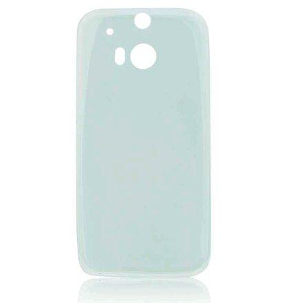 Microsoft Lumia 535 GUMENÉ ULTRA tenké (0,3mm) puzdro, transparentné