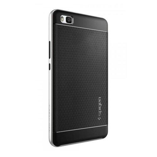 Puzdro Spigen Neo Hybrid Huawei P8 Lite - satin silver (bulk)