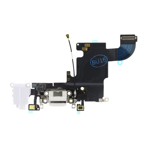 Apple iPhone 6S - Flex Kábel Nabíjacieho Konektora - Biely