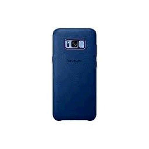 Samsung Alcantara Cover pre Galaxy S8+ G955 Blue EF-XG955ALEG (EU Blister)
