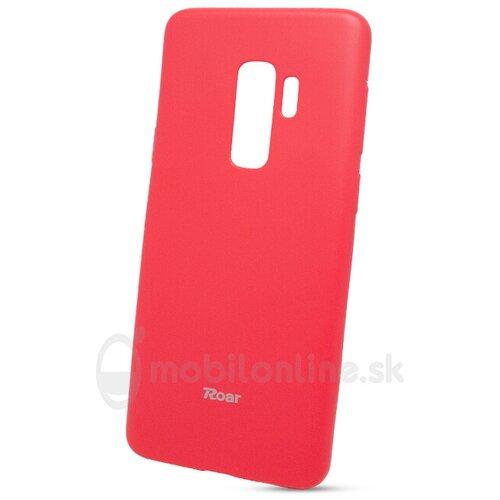 Puzdro Roar Jelly Colorful TPU Samsung Galaxy S9 Plus G965 - ružové