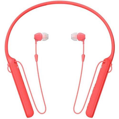 SONY WIC400R.CE7 Bezdrôtové slúchadlá Červené