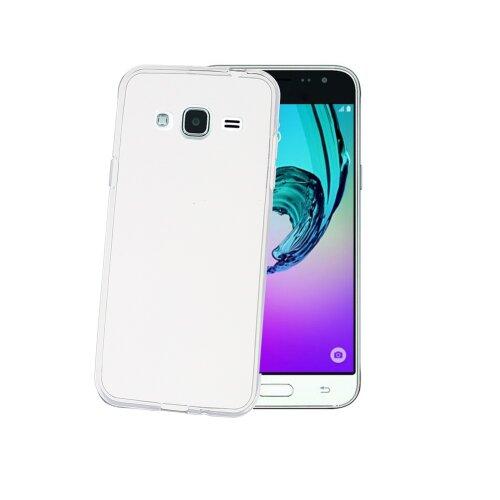 TPU púzdro CELLY Gelskin pre Samsung Galaxy J3 (2016), bezfarebné