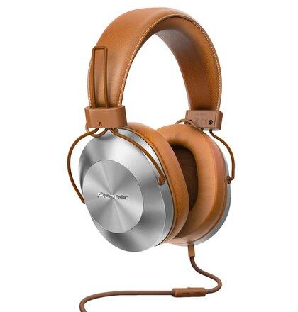 Pioneer náhlavní sluchátka Hi-Res hnědá