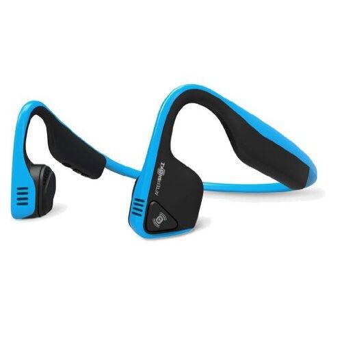 AfterShokz Trekz Titanium, Bluetooth sluchátka před uši, modrá