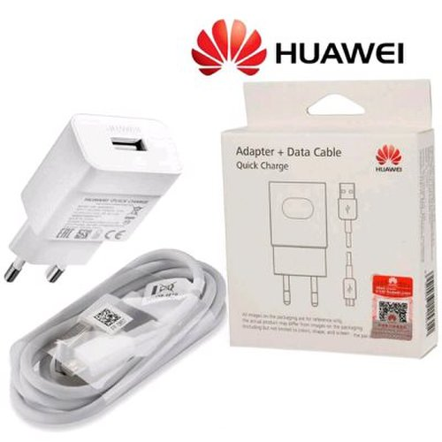 Nabíjačka Huawei HW-059200EGQ/AP32 Original Fast Charger 18W + Kábel MicroUSB 1m Biela