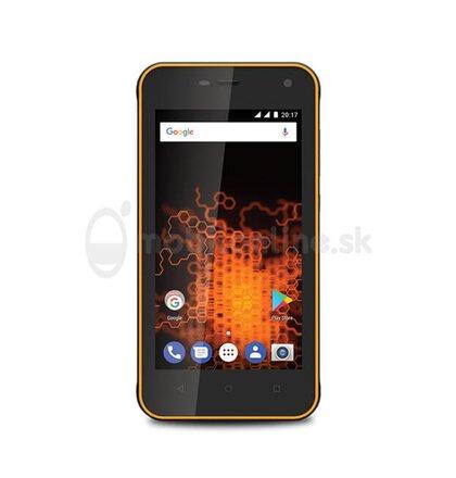 MyPhone Hammer Active Dual SIM, Oranžový