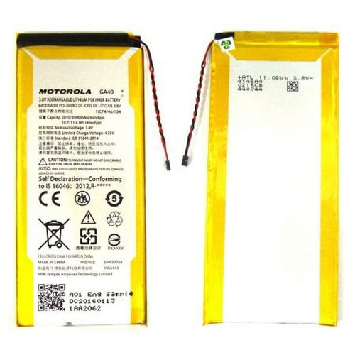 Batéria Motorola GA40 Li-Ion 3000mAh (Bulk)