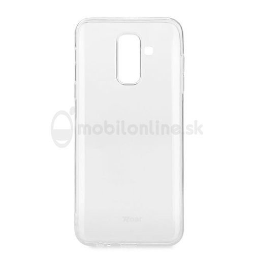 Puzdro Roar Jelly TPU Samsung Galaxy A6 Plus A605 2018 - transparentné