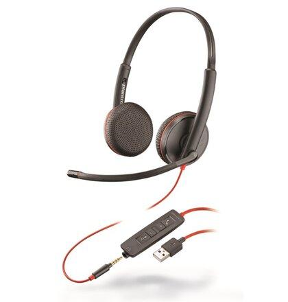 Plantronics Blackwire C3225, Duo, USB/Jack
