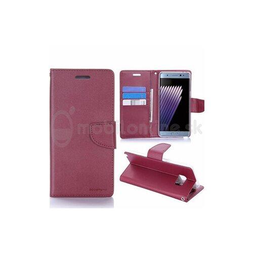 Puzdro Mercury Bravo Diary Book Samsung Galaxy A5 A520 2017 - červené (vínové)