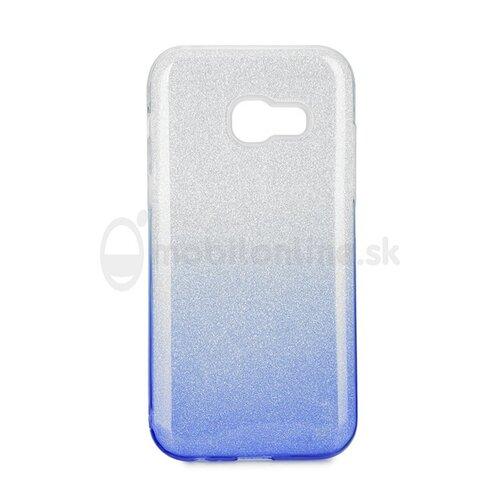 Puzdro 3in1 Shimmer TPU Samsung Galaxy A3 A320 2017 - strieborno-modré