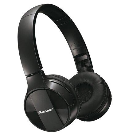 Pioneer náhlavní sluchátka s BT černá
