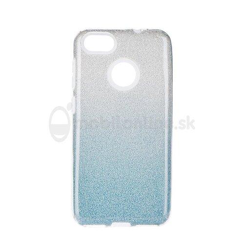 Puzdro Shimmer 3in1 TPU Huawei P9 Lite Mini - strieborno-modré