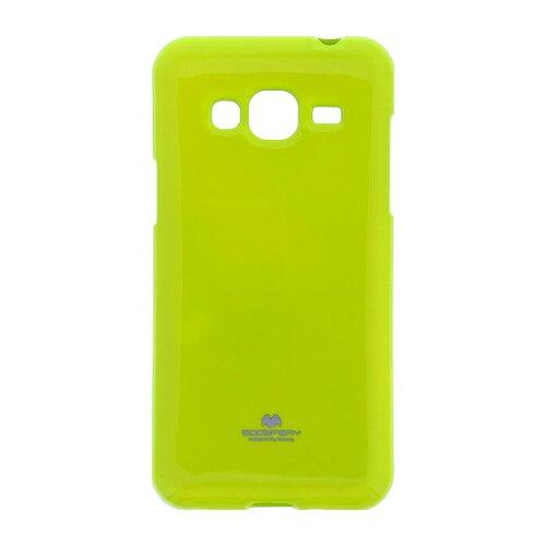 Puzdro Mercury Jelly TPU Samsung Galaxy J5 J510 - limetkové