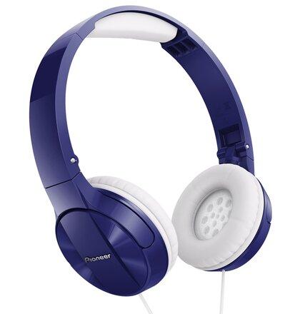 Pioneer náhlavní sluchátka modrá