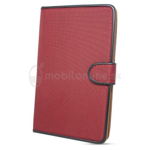Puzdro Fancy Book Uni Tablet 7-8 Palcov - červené (max 22x13cm)
