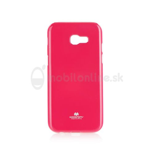 Puzdro Mercuy Jelly TPU Samsung Galaxy A3 A320 2017 - ružové