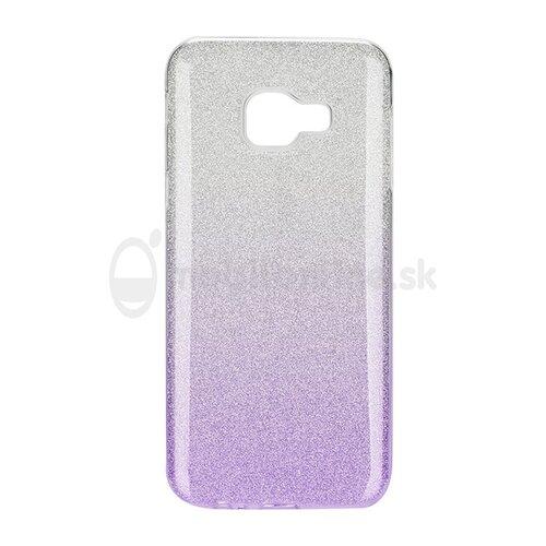 Puzdro 3in1 Shimmer TPU Samsung Galaxy A5 A510 2016 - strieborno-fialové