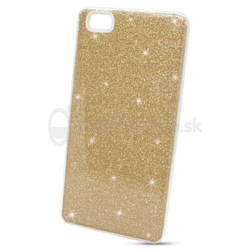 Puzdro 3in1 Shimmer TPU Huawei P8 Lite - zlaté