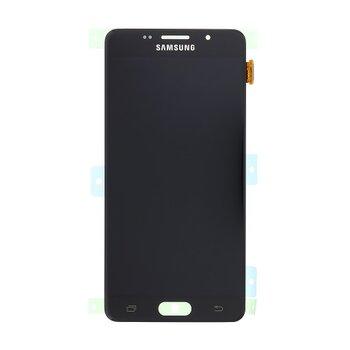 Samsung A510 Galaxy A5 2016 - LCD Displej + Dotyková Plocha - Čierny