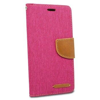 Puzdro Canvas Book iPhone 5/5s/SE - ružové