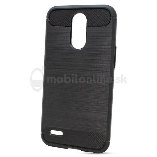 Puzdro Carbon LUX TPU LG K10 2017 M250n - čierne