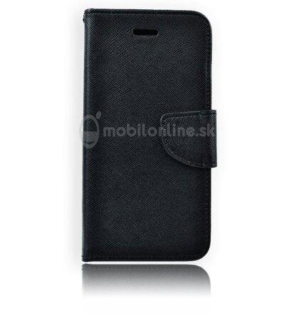 Fancy Book na Samsung Galaxy A7 A700, čierne