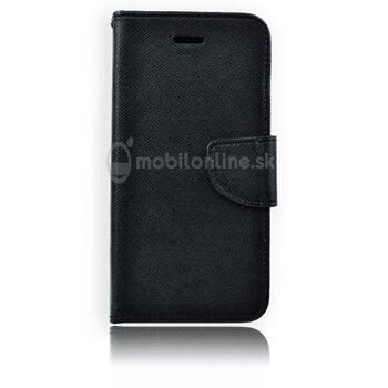 Fancy Book na Samsung Galaxy S4 i9500/i9505, čierne