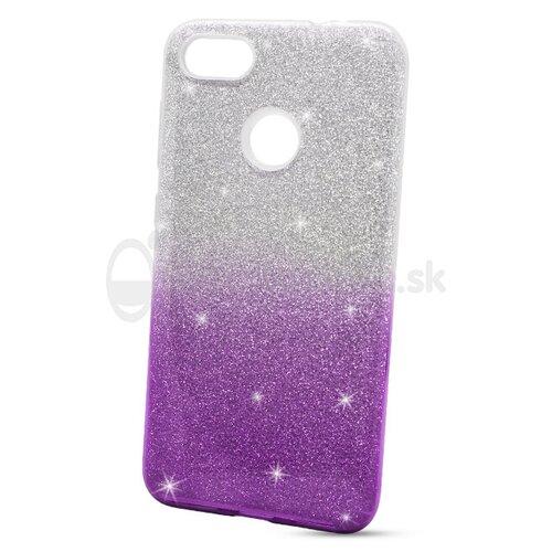 Puzdro Shimmer 3in1 TPU Huawei P9 Lite Mini - strieborno-fialové
