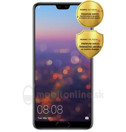 Huawei P20 Pro 6GB/128GB Dual SIM, Fialový - SK distribúcia