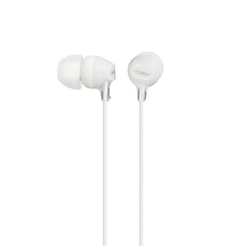 Sony MDR-EX15LP Slúchadlá Biele