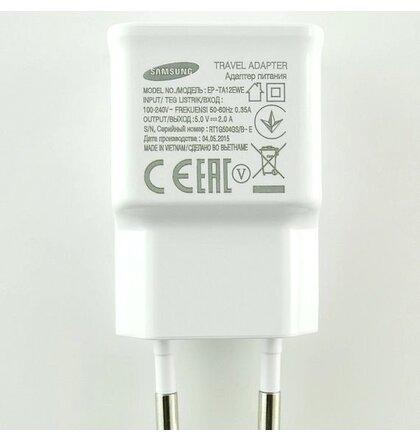 EP-TA12EWE+ ECB-DU4AWE Samsung micro USB Cestovní dobíječ White (Bulk)