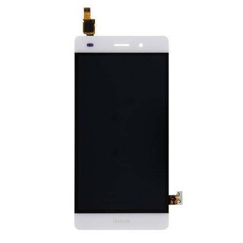 Huawei Ascend P8 Lite - LCD Displej + Dotyková Plocha - Biely
